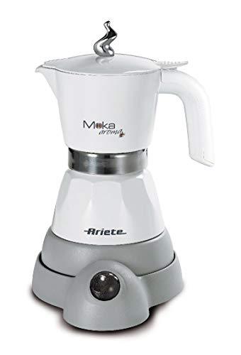 Ariete 1358 1358 Moka Aroma / elektrische Espressomaschine / 2-4 Espressotassen / 480 Watt