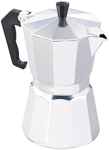 Cucina di Modena Espresso Induktion: Espressokocher für 6 Tassen, für Induktions-Herde geeignet, 300 ml (Manuelle Espresso Maschinen)